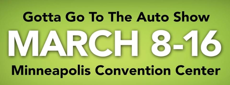 Twin Cities Auto Show Tickets
