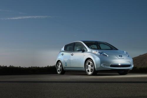 Nissan Leaf Front 3/4