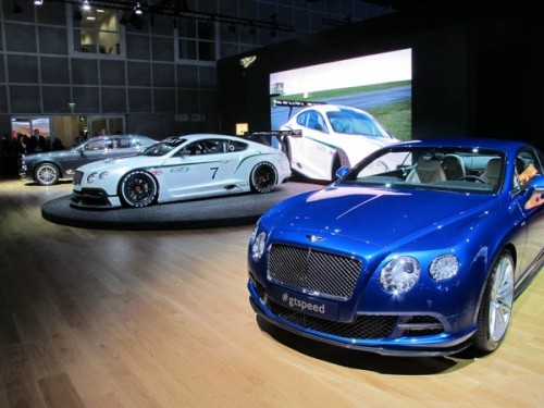 Bentley GT3 Coupe and 2014 GT Speed