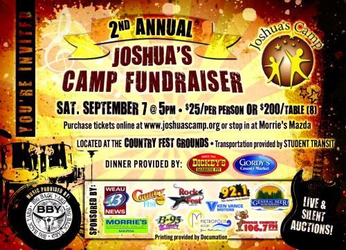 Joshua's Camp Fundraiser