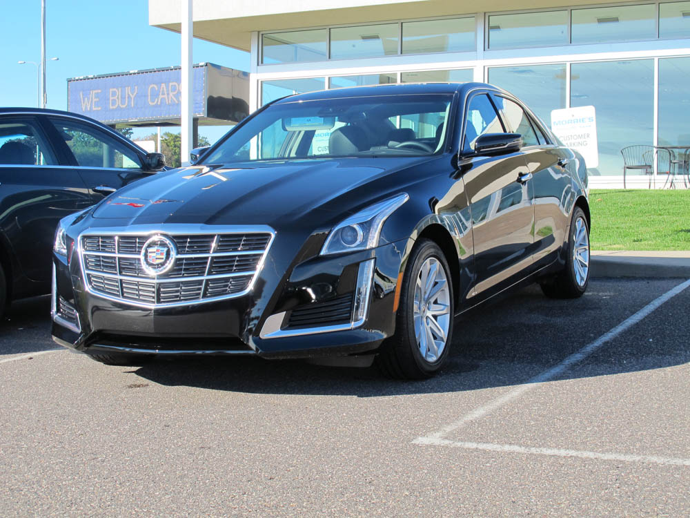 The 2014 CTS Arrives At Morrie's Cadillac!