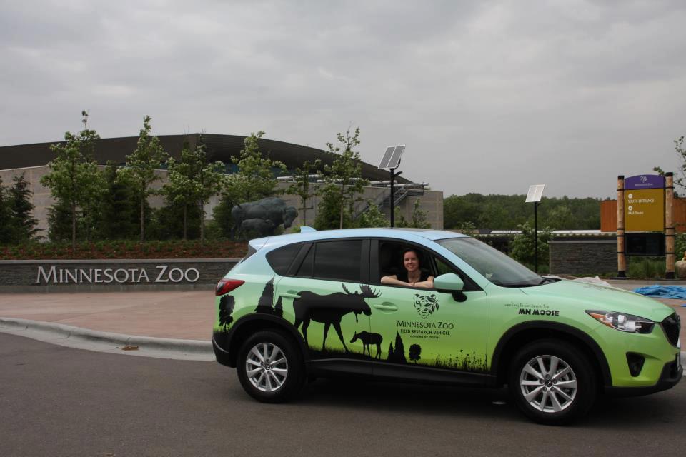 Minnesota Zoo Morrie's Mazda Field Vehicle