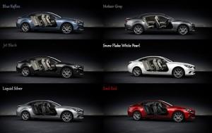 Mazda6 Colors