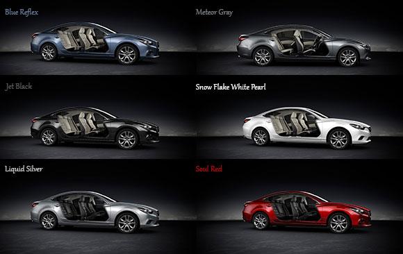 Mazda6 Colors Morrie S Automotive Group Blog