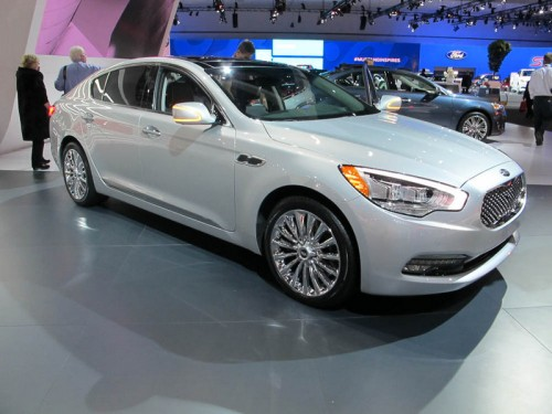 KIA K900 at the LA Auto Show