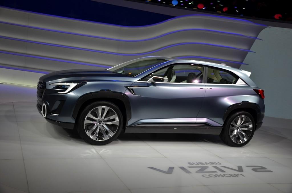 Subaru Viziv 2 Hints At Future Subaru Crossovers Morries