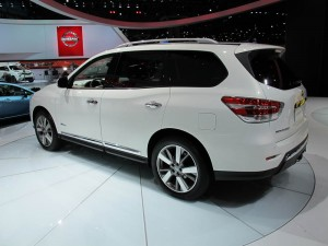 Nissan Pathfinder Hybrid 2013 New York International Auto Show