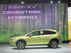 Subaru XV Crosstrek Hybrid at the 2013 New York International Auto Show