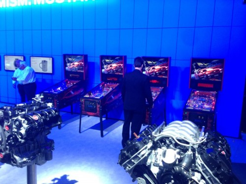 Ford Mustang Pinball at NYIAS14