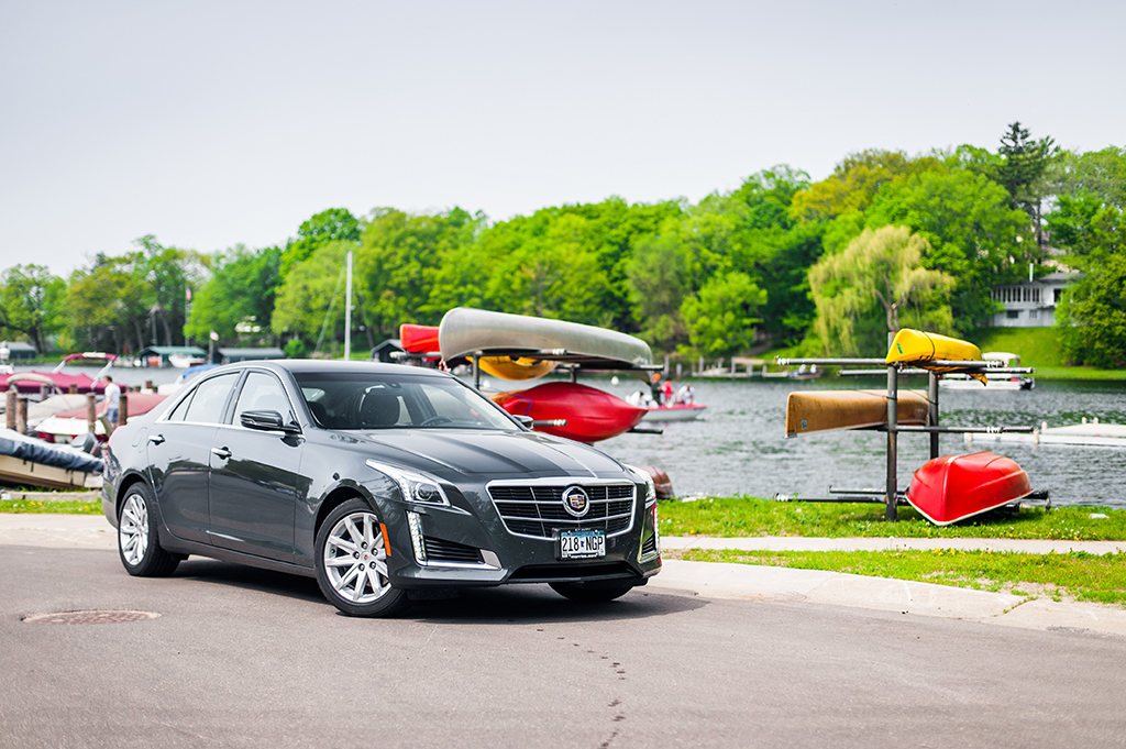 Driving The All New 2014 Cadillac CTS