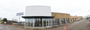 The front of the new Morrie's Body Shop in Brooklyn Park.